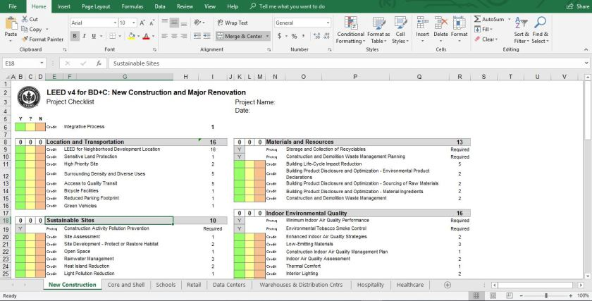 excel screen shot
